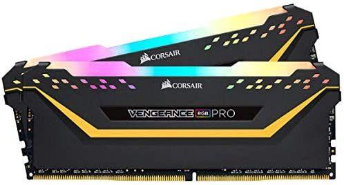 Kit mémoire RAM Corsair Vengeance RGB Pro TUF Edition - 32 Go (2 x 16 Go) DDR4, 3200 Mhz, C16
