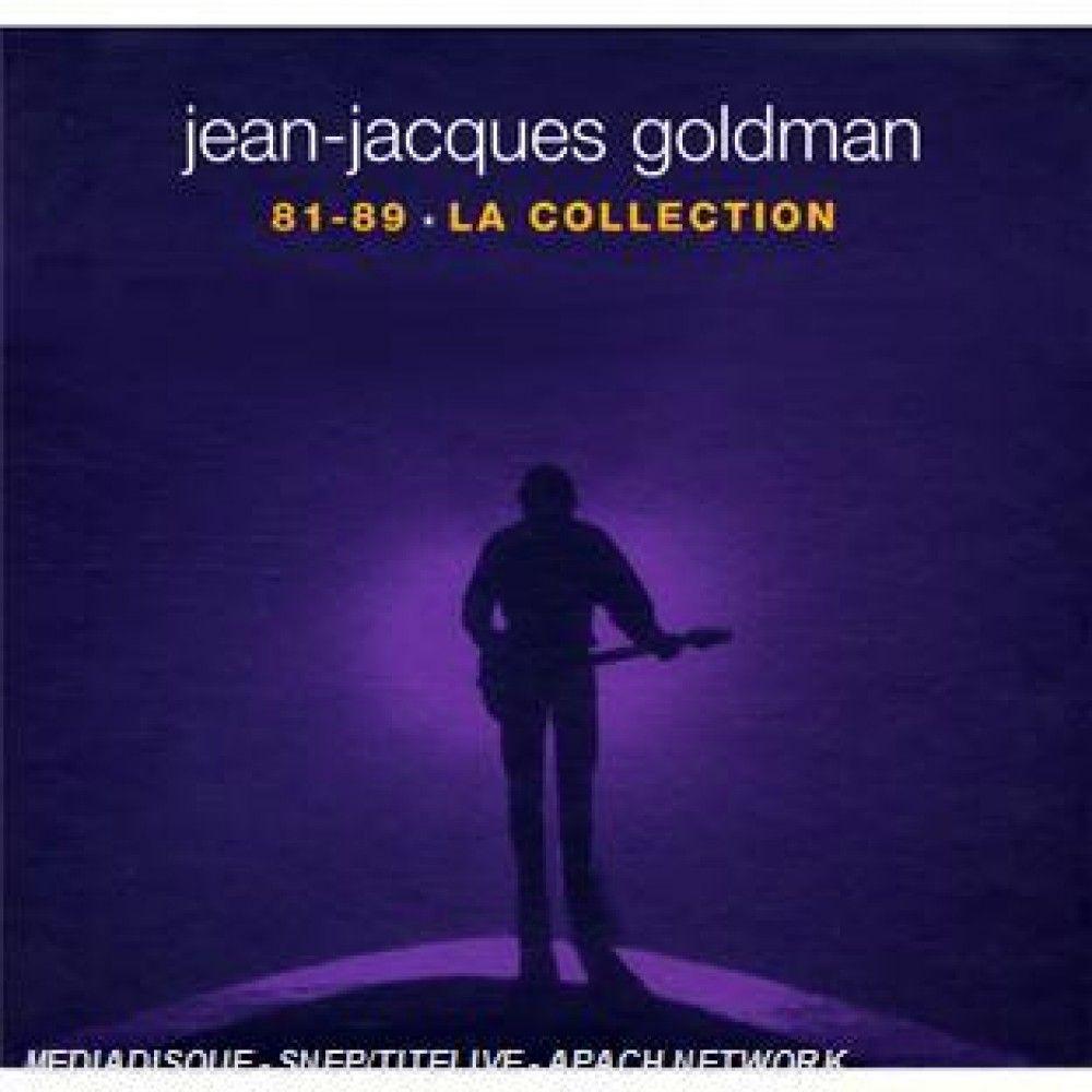 Coffret 5 albums Jean-Jacques Goldman : 81-89 La Collection