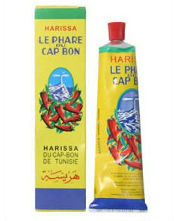 Lot de 2 tubes de 75g de Harissa de Tunisie Le Phare du Cap-Bon (2 x 75g) - Mérignac (33)