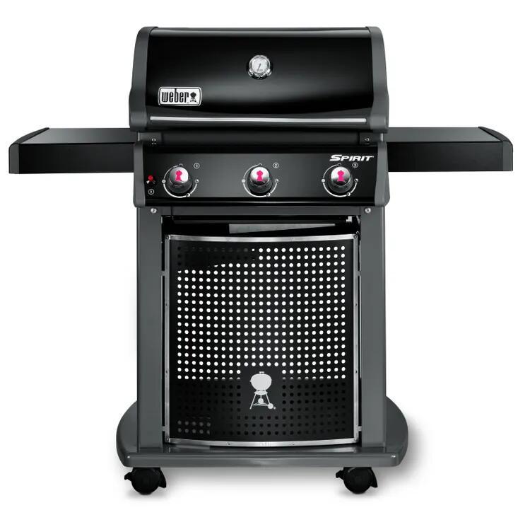Barbecue au gaz Weber Spirit Classic E310 - Noir