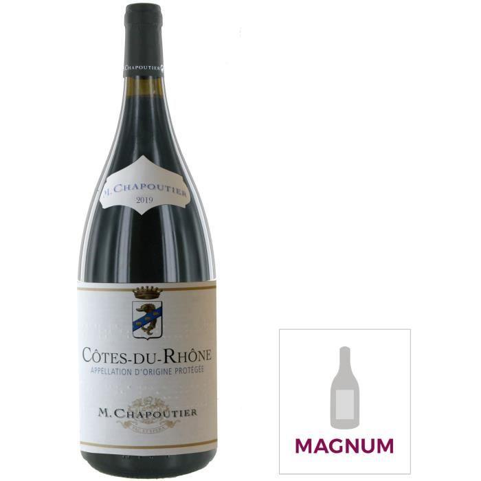 Magnum Vin rouge M. Chapoutier Cotes du Rhône 2019 - 1.5 L