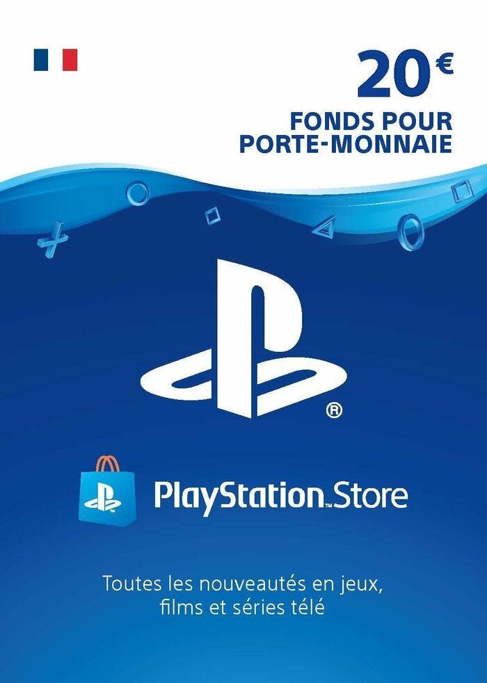 Carte PlayStation Network 20€ (Dématérialisé)