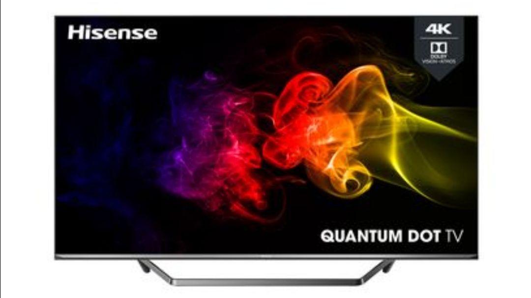 "TV 65"" Hisense 65U7QF - QLED, 4K UHD, HDR 10+, Dolby Vision & Atmos, Smart TV (Via ODR de 50€)"