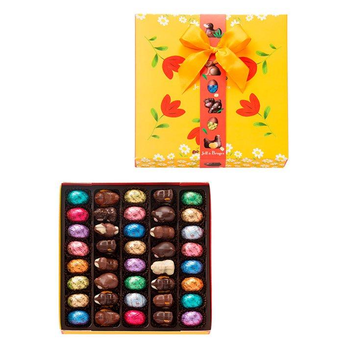34% sur une sélection de chocolats de Pâques Jeff de Bruges - Ex : Boite de chocolats de Paques (480gr) - jeff-de-bruges.com