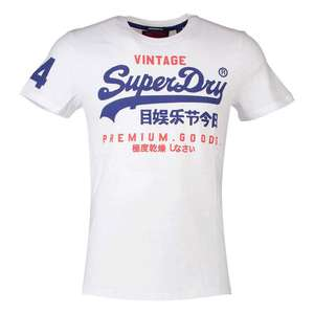 Sélection de T-shirt SuperDry en promotion - Ex : Premium Goods Duo Lite pour Homme (Toutes tailles)
