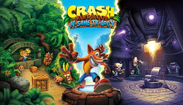Crash Bandicoot N. Sane Trilogy sur PC (Dématérialisé)