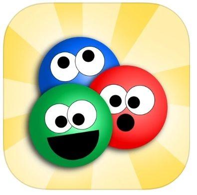 Jeu Catch a Color Deluxe Ball Drop Gratuit sur iOS.