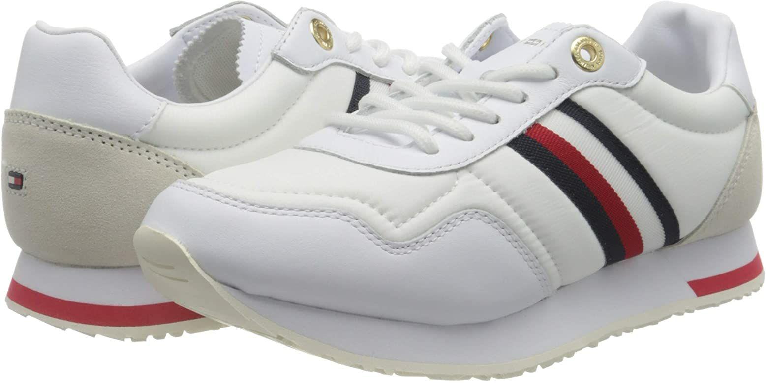 Paire de chaussures Tommy Hilfiger Casual City Runner femmes - Taille 36.5 à 42