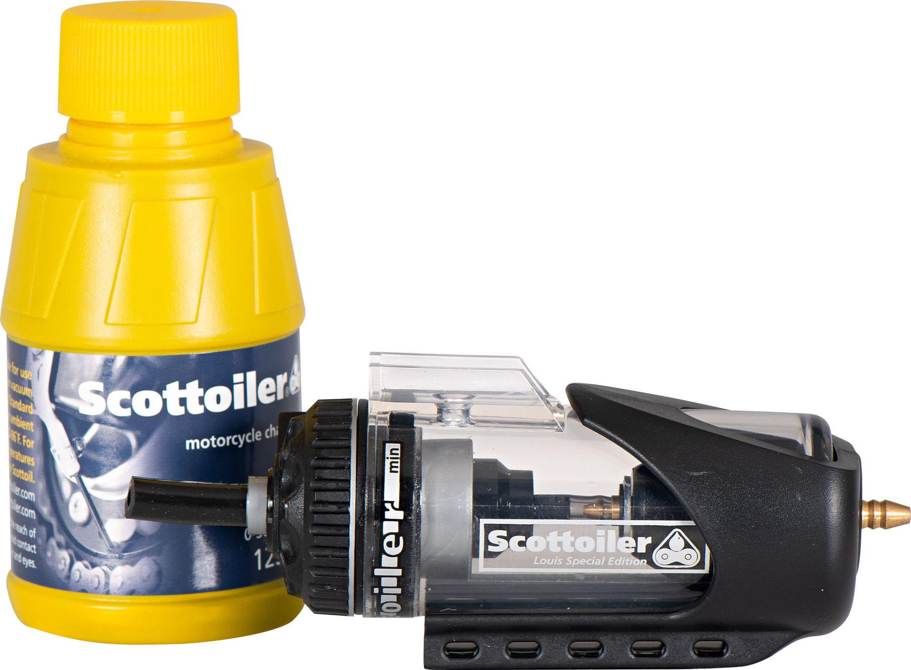 Mini graisseur de chaine automatique pour moto Scottoiler