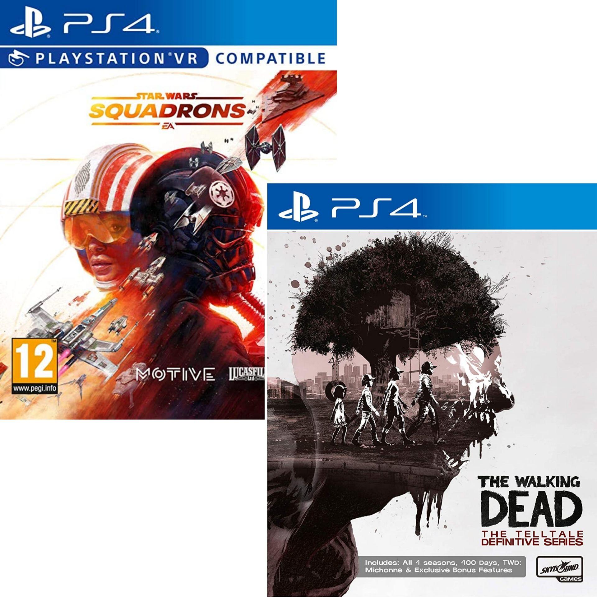 The Walking Dead: The Telltale Definitive Series ou Star Wars Squadrons sur PS4