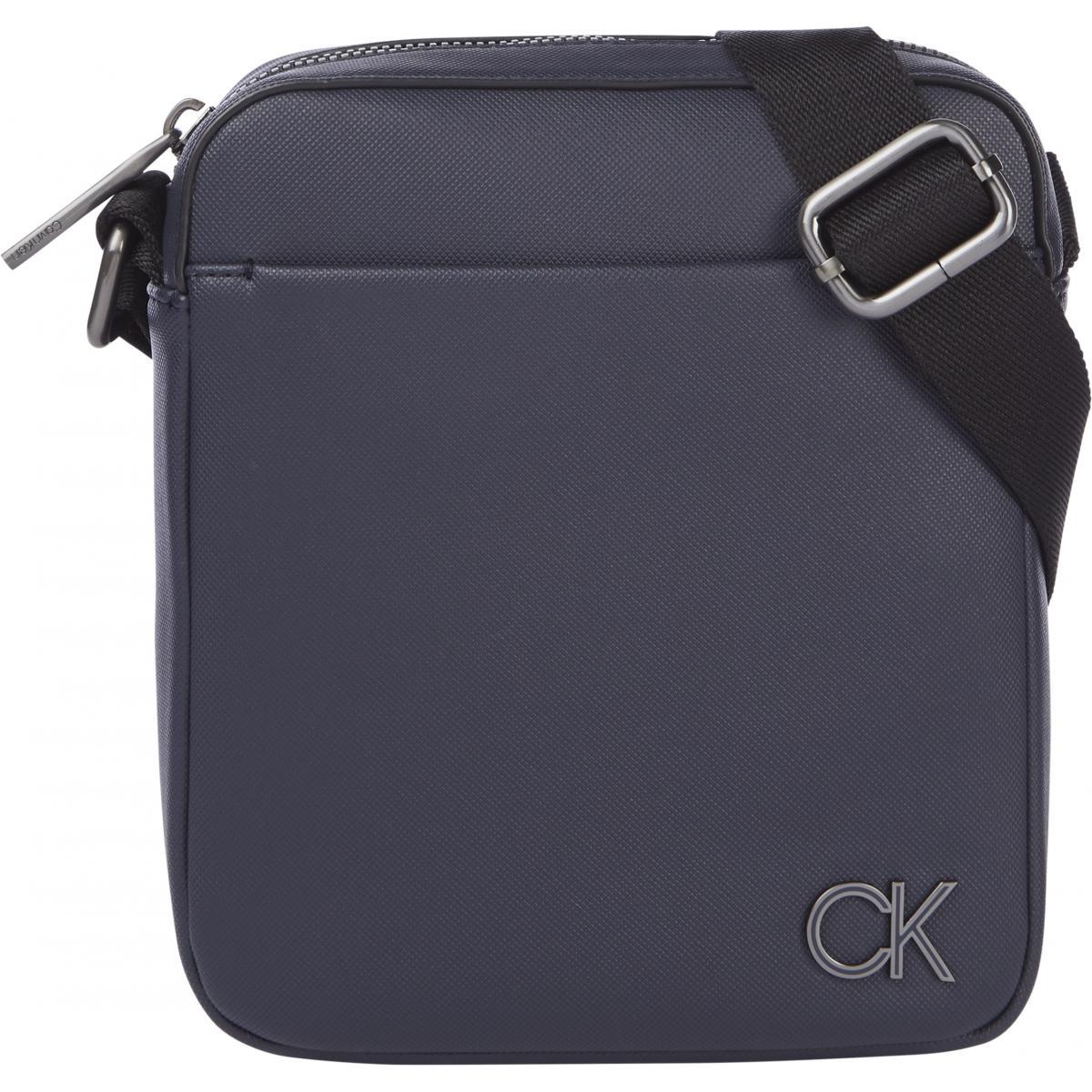 Sacoche Calvin Klein logo bleue marine -