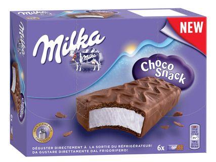Boîte de 6 barres Milka Choko Snack (8x32g)