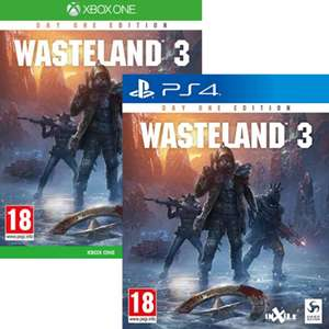 Wasteland 3 Day One Edition sur PS4 ou Xbox One (via retrait magasin)