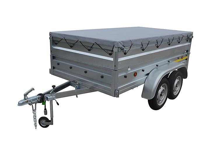 Remorque double essieux Trigano TR901522 - 280kg + accessoires