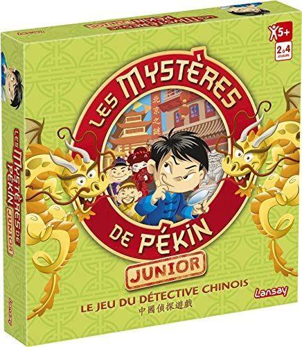 Jeu de société Lansay Les mystères de Pékin Junior (via coupon)