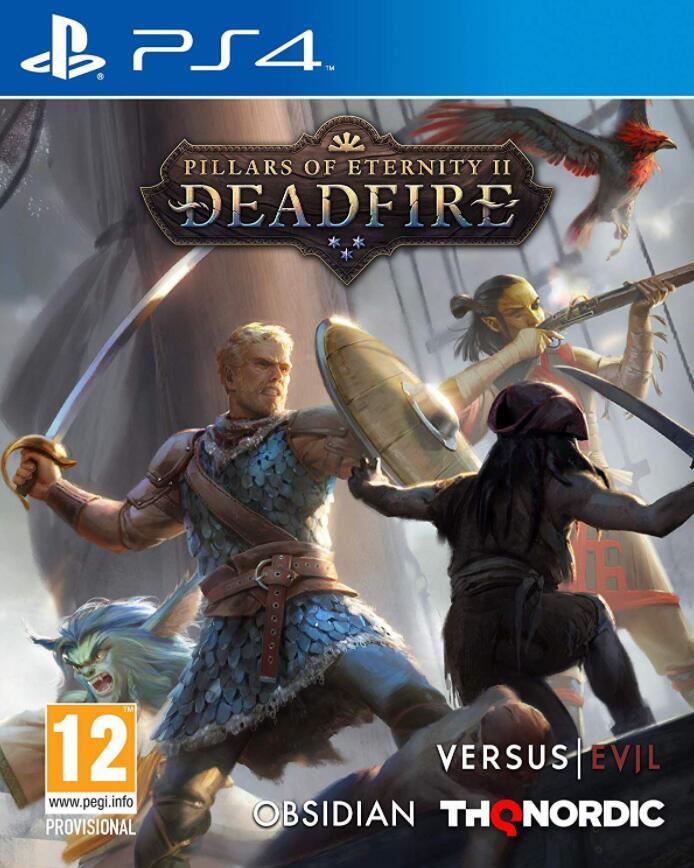 Pillars of Eternity 2 Deadfire sur PS4 et Xbox One (via retrait magasin)