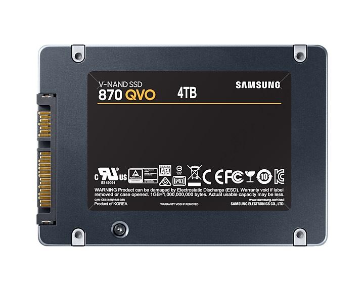 "SSD interne 2.5"" Samsung QVO 870 - 4 To"