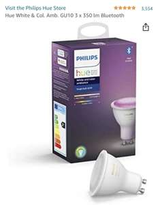 Ampoule LED Philips Hue White & Color GU10