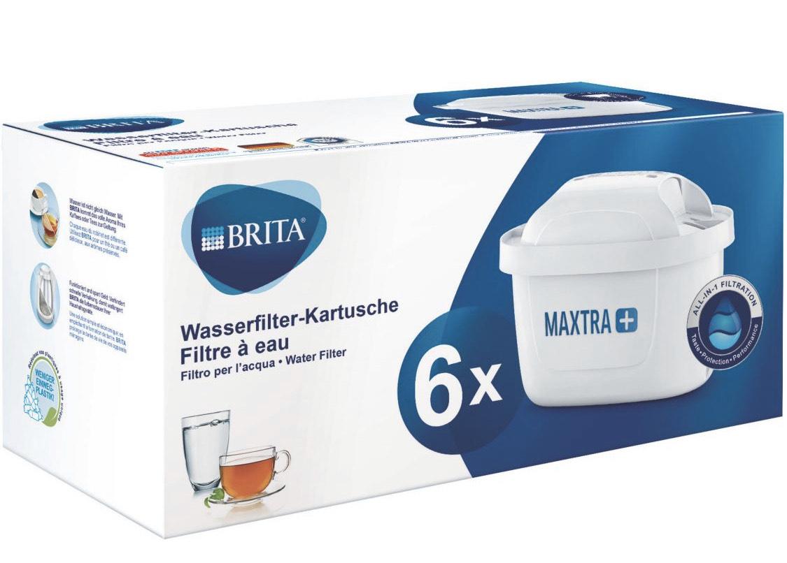 Lot de 6 cartouches filtrantes Brita P6 Maxtra + (Via remise panier)