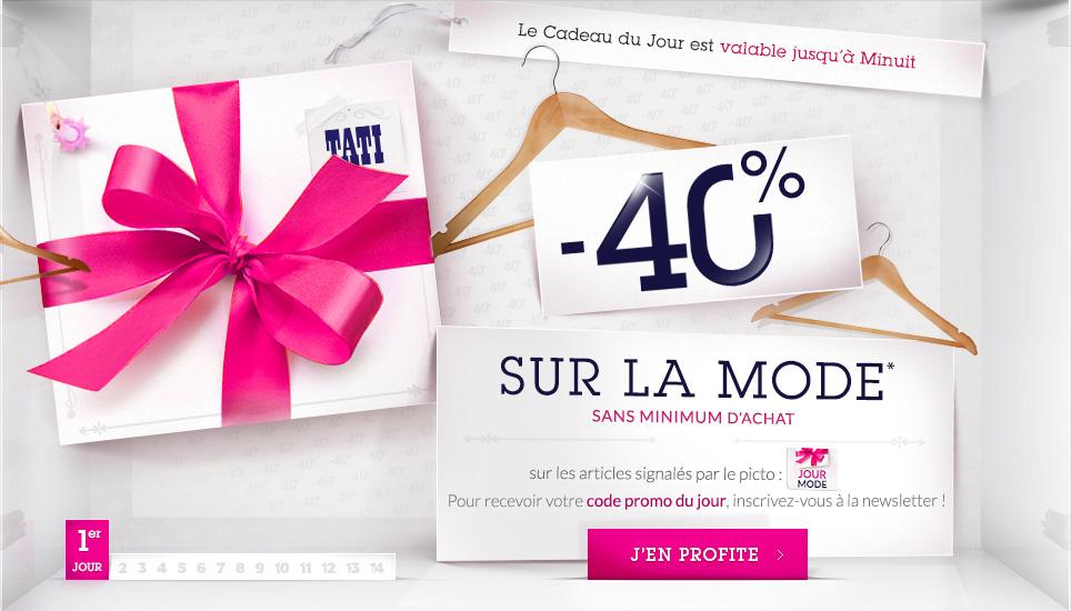 -40% sur la mode sans minimum d'achat, l'anniversaire Tati commence aujourd'hui