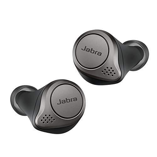 Écouteurs intra-auriculaires sans-fil Jabra Elite 75t - coloris titane (Occasion - Excellent état)