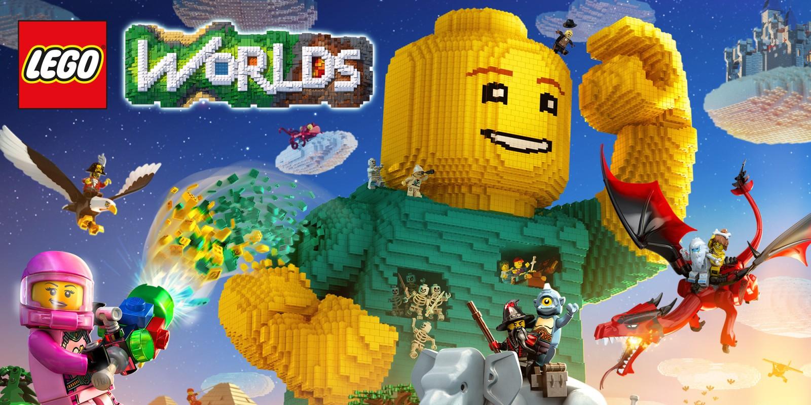Jeu Lego Worlds sur Nintendo Switch (Dématérialisé)