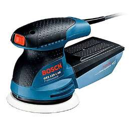 Ponceuse excentrique 250W Bosch Professional GEX 125-1 AE - Ø125 mm, 12000 tr/min