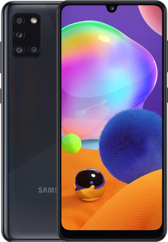 "[Clients MACIF] Smartphone 6.4"" Samsung Galaxy A31 - full HD+, Helio P65, 4 Go de RAM, 64 Go, bleu ou noir"