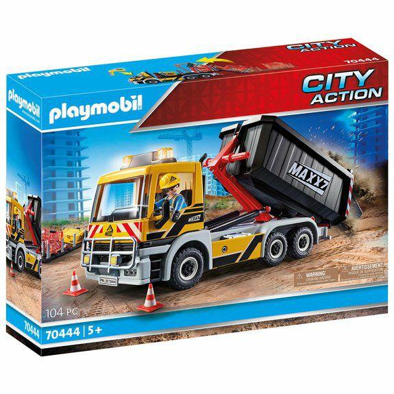 Une boîte Playmobil offerte pour l'achat d'une boite Camion benne ou Camping-car