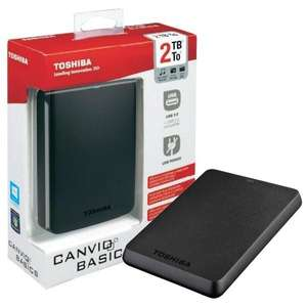 "Disque dur externe 2.5"" Toshiba Canvio Basics USB 3.0 - 2 To"