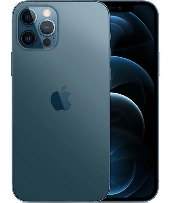 "Smartphone 6.1"" Apple iPhone 12 Pro - 128Go, Bleu Pacifique (matospascher.com)"