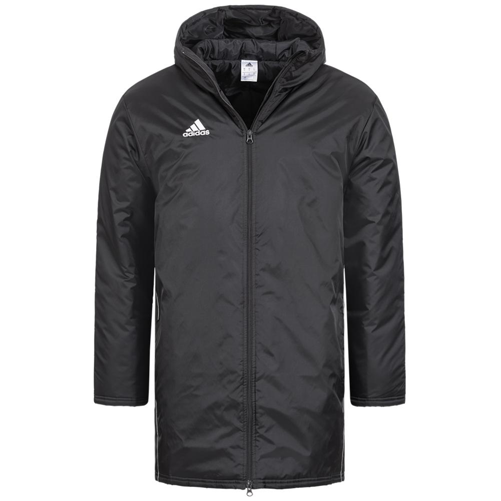 Veste d'hiver Adidas Core Stadium - Noir ou Bleu, Tailles S à XL