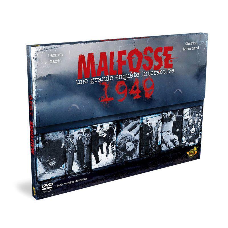 Sélection de jeux de société en promotion - Ex : Malfosse 1949