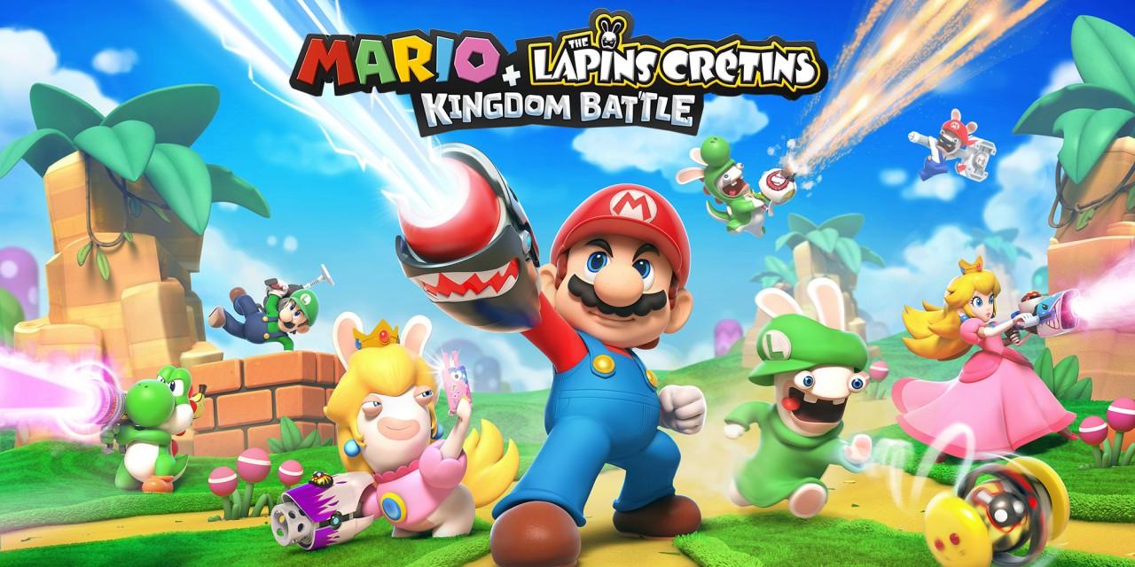 Mario + The Lapins Crétins Kingdom Battle sur Nintendo Switch (Dématérialisé)