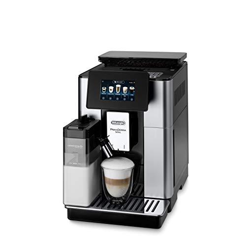 Machine à expresso automatique avec broyeur de grains De'Longhi PrimaDonna Soul ECAM 612.55.SB