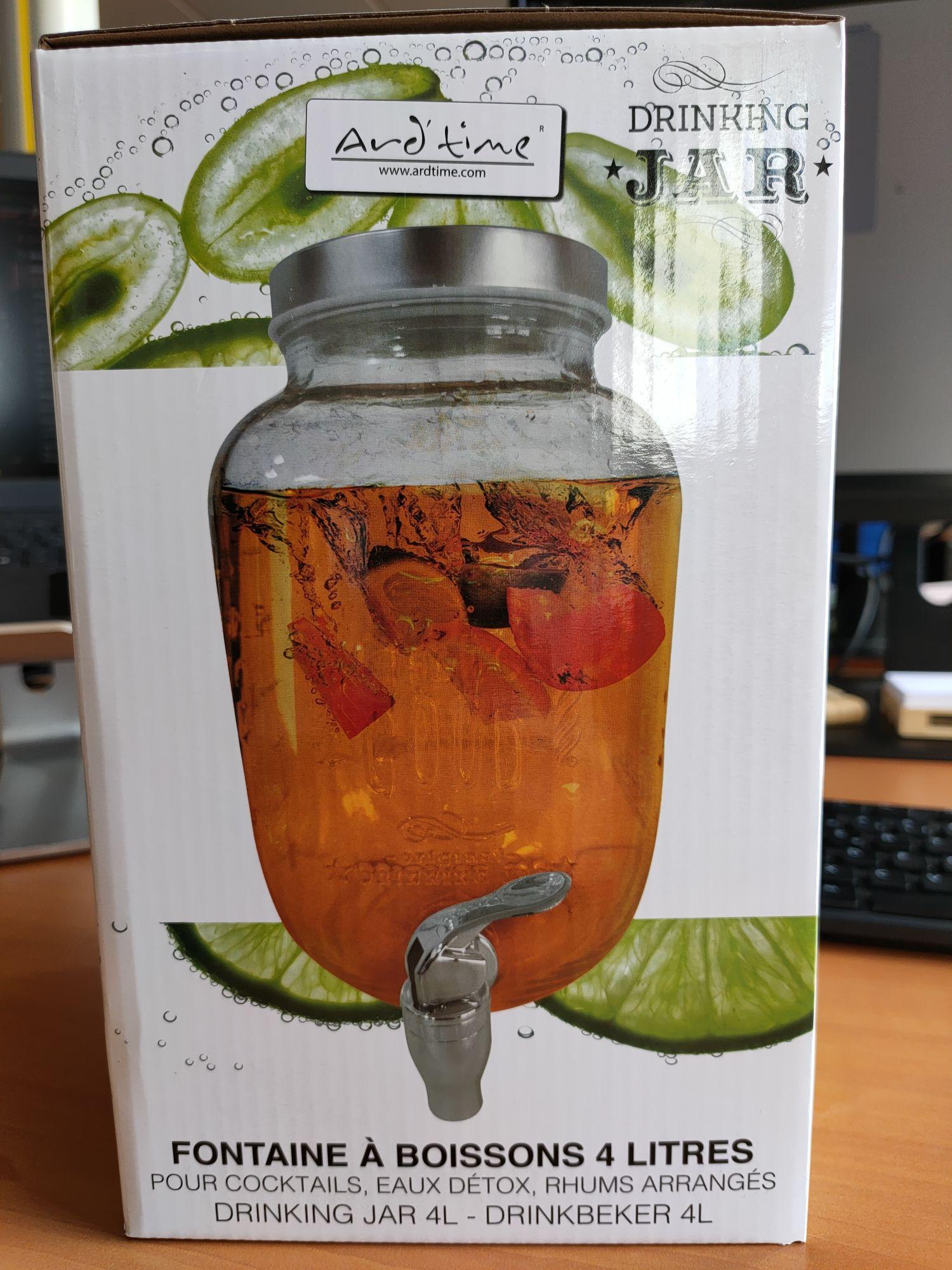 Fontaine à boisson avec robinet Ard'Time (4 L) - Limoges (87)