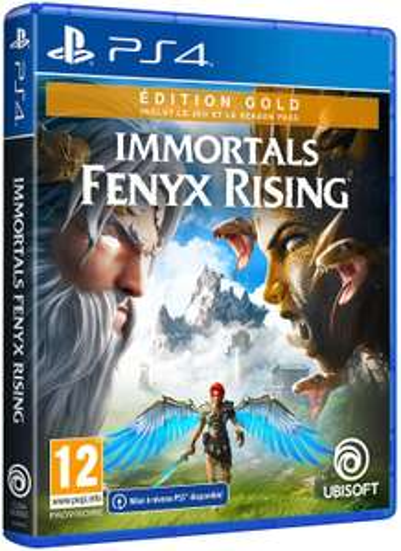 Immortals Fenyx Rising Edition Gold sur PS4 et Xbox One