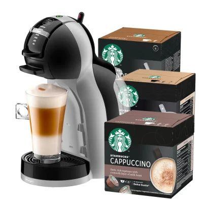 Cafetière à capsules Krups Mini Me Dolce Gusto + 3 boîtes de 12 capsules compatibles Starbucks (kaffekapslen.fr)