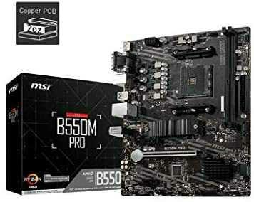 Carte mère MSI B550M Pro - AM4