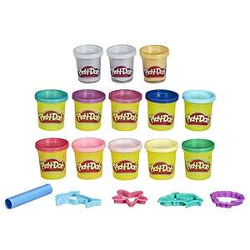 13 Pots de Pate à Modeler Play-Doh et 5 Accessoires - Sirènes