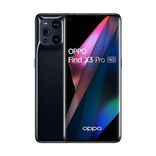 """Smartphone 6.7"""" Oppo Find X3 Pro - WQHD+, SD 888, 12 Go RAM, 256 Go (via Retrait magasin)"""