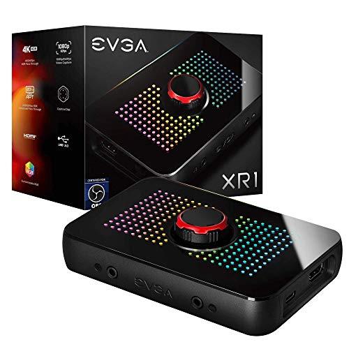 Boitier d'enregistrement et streaming EVGA XR1 - Full HD avec mode passthrough 4K, USB 3.0 Type-C (frais d'importation et livraison inclus)