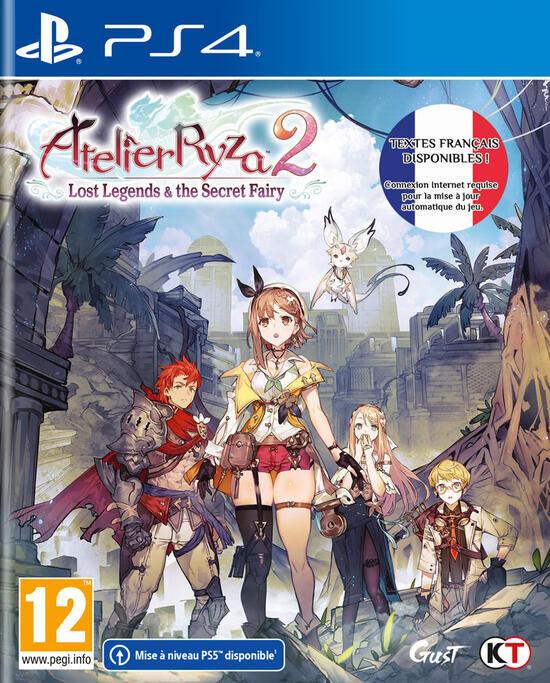 Atelier Ryza 2 Lost Legend & Secret Fairy sur PS4 ou Nintendo Switch