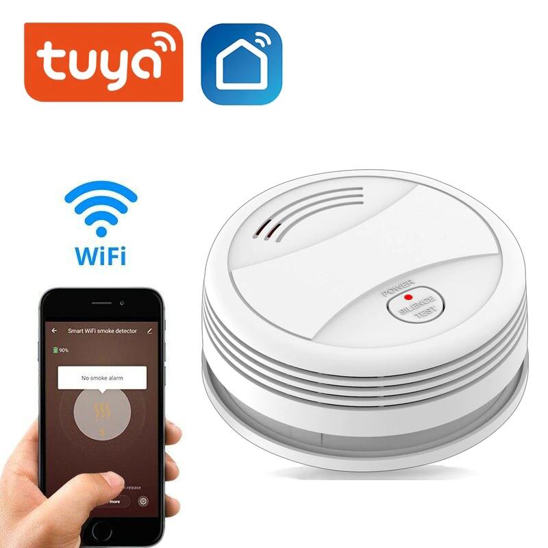 Détecteur de fumée Wi-Fi Tuya
