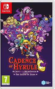 Cadence of Hyrule - Crypt of the NecroDancer Featuring The Legend of Zelda sur Switch