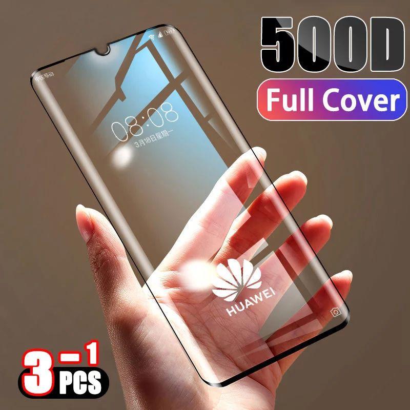 Coque en verre trempé pour Smartphone Huawei P20 / P30
