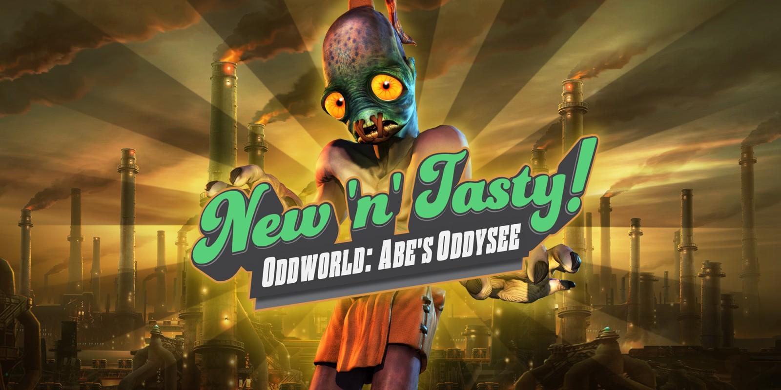 Oddworld: New 'n' Tasty sur Nintendo Switch (Dématérialisé)