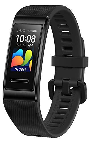 Bracelet connecté Huawei Band 4 Pro GPS - Noir ou Rouge