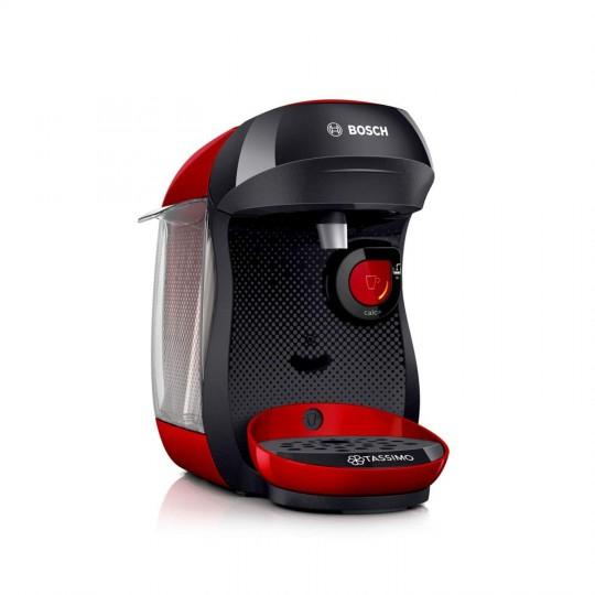 Machine à café Bosch Tassimo TAS1006 - 1400 W, 0.7 L, Rouge/Noir