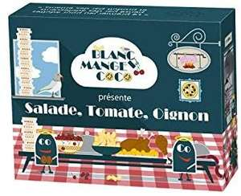 Jeu de carte Blanc Manger Coco - Salade Tomate Oignon